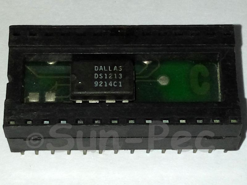 DS1213C DALLAS SmartSocket 256k (32Kx8 CMOS SRAMs) DIP-28 1pcs