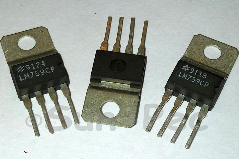 LM759CP NSC ±18V 325mA TO-220 1pcs - 2pcs