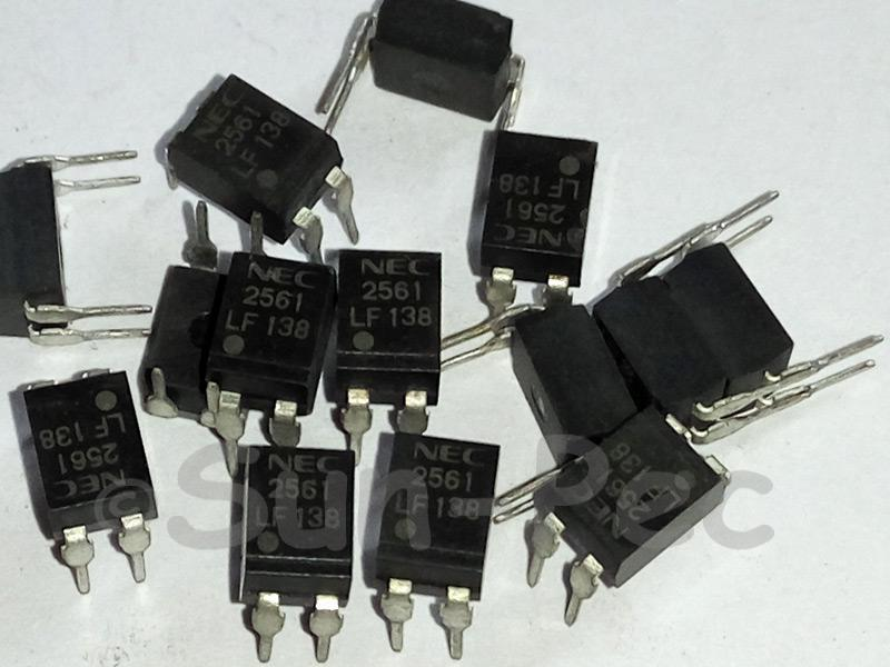 PS2561-1 NEC NPN silicon phototransistor PHOTOCOUPLER DIP4 5pcs - 20pcs