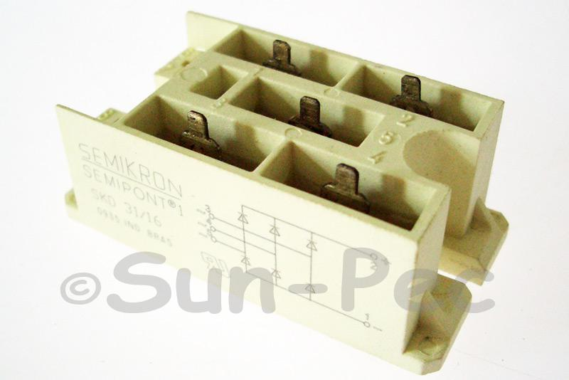 SKD31/16 SEMIKRON Power Bridge Rectifiers 1600V 1pcs