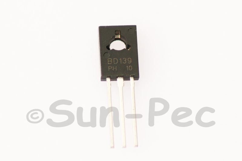 BD139 ST/PHILIPS NPN power transistors 80V 1.5A TO-126 1pcs