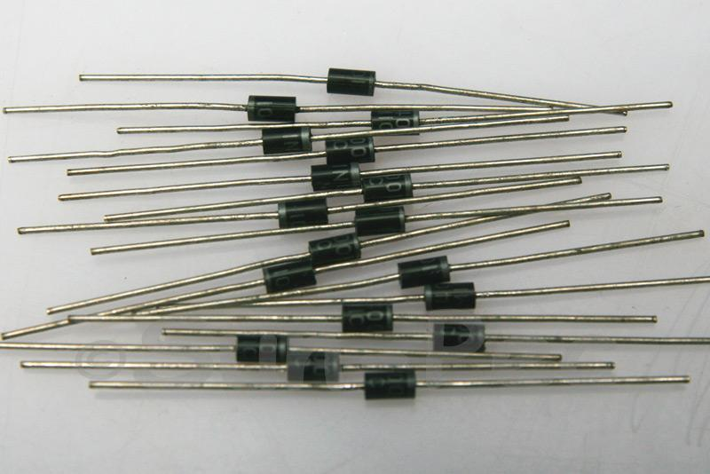 1N400x Rectifier Diodes 1A Axial leaded DO-41 50V-1000V choices, 10pcs - 200pcs 10pcs - 200pcs