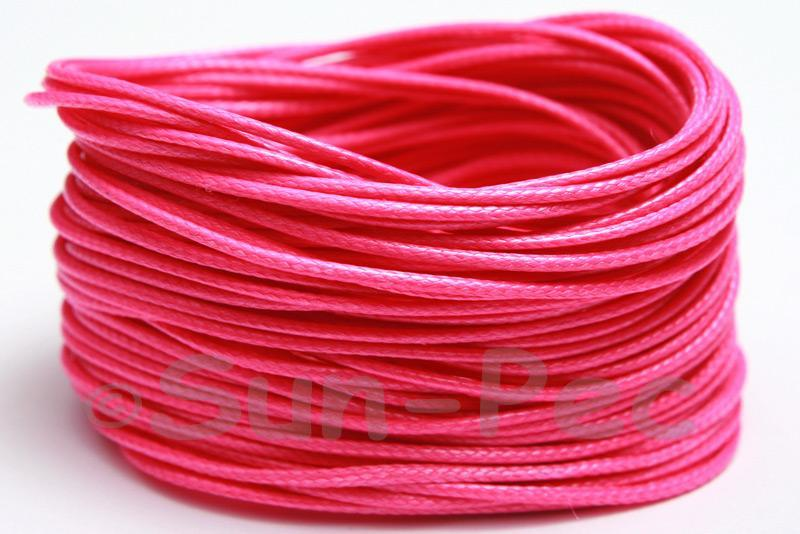 Rose 1mm Coated Polyester Cord (snakeskin style) 5m - 50m