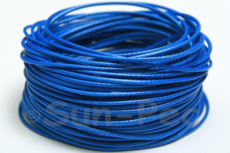 Sapphire 1mm Coated Polyester Cord (snakeskin style) 5m - 50m