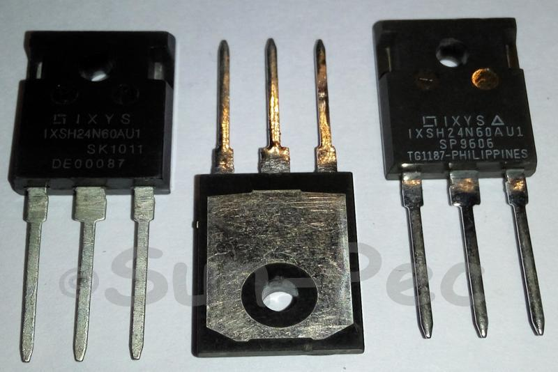IXSH24N60AU1 IXYS HiPerFASTTM IGBT with Diode TO-247 1pcs