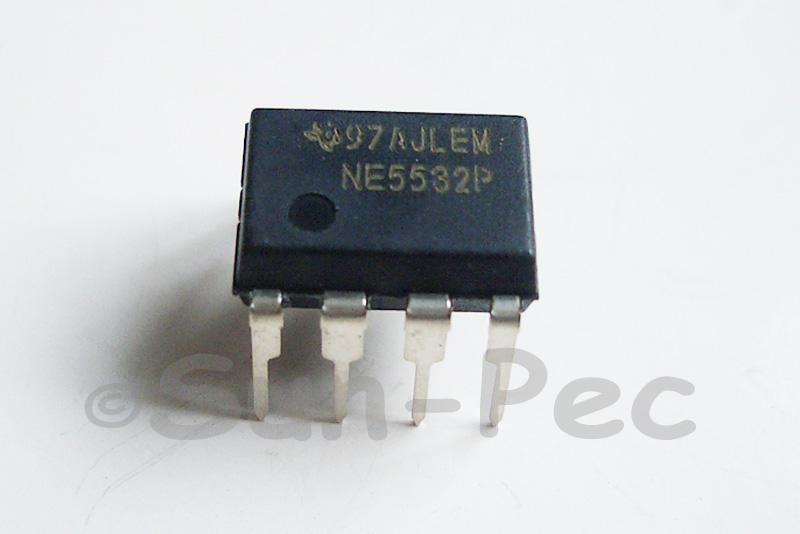NE5532P TI ±18V 8mA DIP-8 5pcs - 15pcs