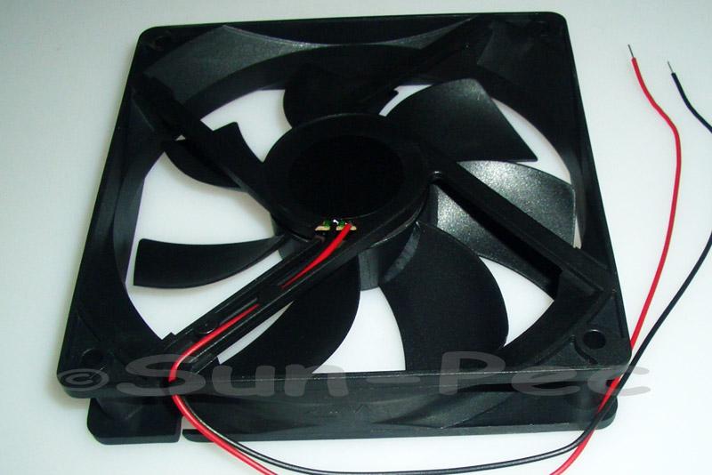 DC Cooling Fan 12V 350mA Sleeve Bearing 120x120x25mm 1pcs - 10pcs