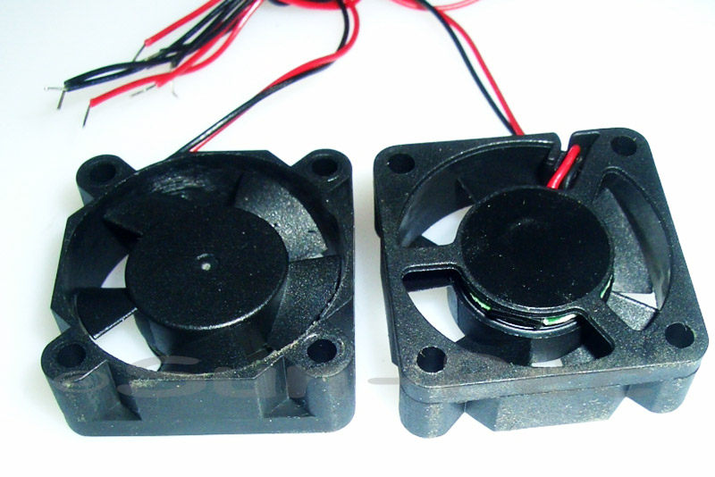 DC Cooling Fan 12V 195mA Ball Bearing 40x40x28mm 1pcs - 10pcs