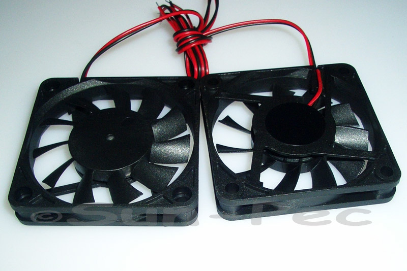 DC Cooling Fan 5V 330mA Sleeve Bearing 60x60x10mm 1pcs - 10pcs