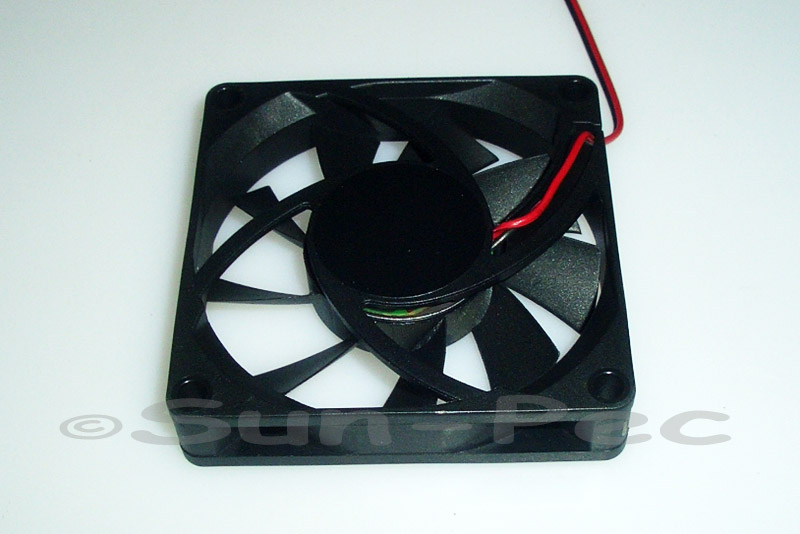 DC Cooling Fan 12V 180mA Ball Bearing 60x60x15mm 1pcs - 10pcs