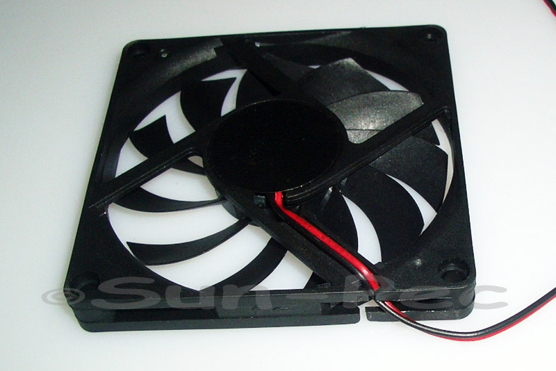 DC Cooling Fan 12V 260mA Sleeve Bearing 80x80x10mm 1pcs - 10pcs