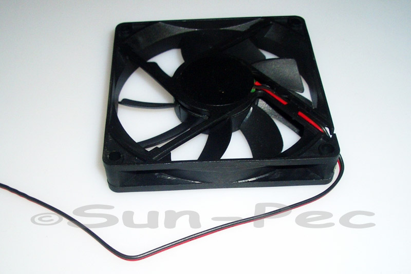 DC Cooling Fan 12V 260mA Ball Bearing 80x80x15mm 1pcs - 10pcs