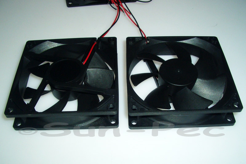 DC Cooling Fan 12V 240mA Sleeve Bearing 92x92x25mm 1pcs - 10pcs