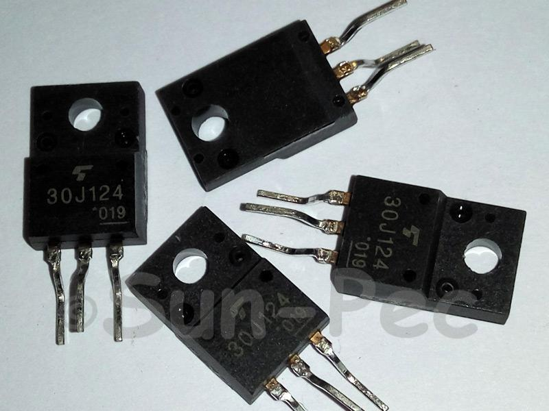 GT30J124 TOSHIBA 4TH Gen SILICON N-CHANNEL IGBT 600V 26W 200A TO-220 1pcs