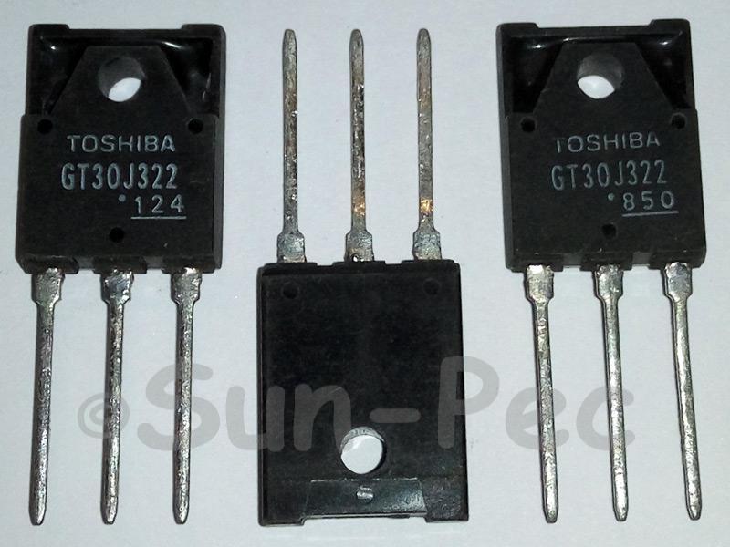 GT30J322 TOSHIBA 4th Gen SILICON N-CHANNEL IGBT 600V 75W 100A TO-3PF 1pcs