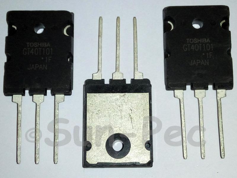 GT40T101 TOSHIBA SILICON N-Channel TRANSISTOR 1pcs
