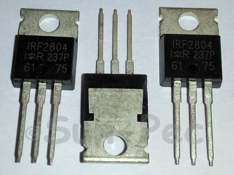 IRF2804 IR HEXFET Power MOSFET 40V 25A TO-220 1pcs