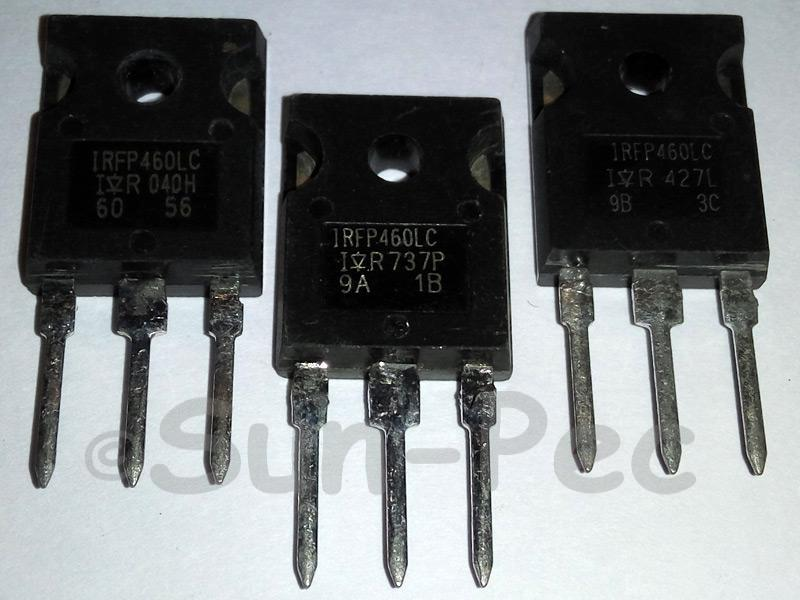 IRFP460LC IR HEXFET Power MOSFET 500V TO-247 1pcs