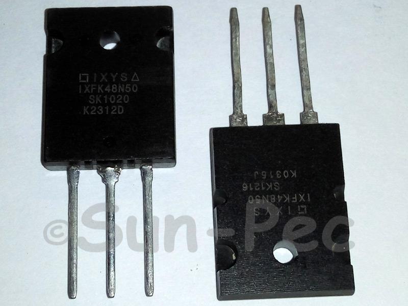 IXFK48N50 IXYS HiPerFET Power MOSFETs TO-3PL 1pcs