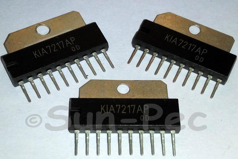 KIA7217AP KEC BIPOLAR LINEAR IC MONOLITHIC 18V 5.8W 4.5A SIP-10 2pcs