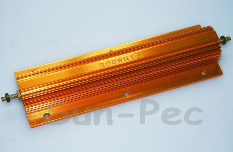 200W Wirewound Resistor Aluminium Clad 0.1 Ohm - 30K Ohm choices 1pcs