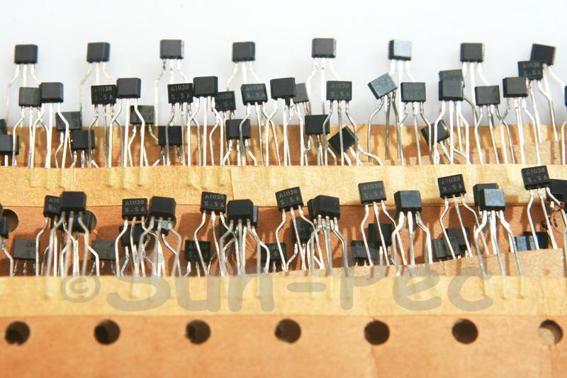 2SA1038 120V 50mA PNP TO-92 10pcs - 50pcs