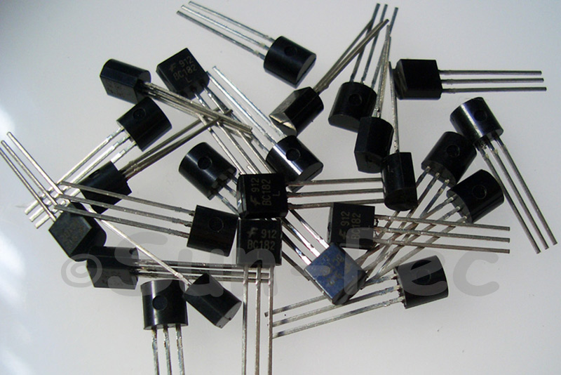 BC182L General Purpose Transistor 50V 100mA NPN TO-92 10pcs - 100pcs