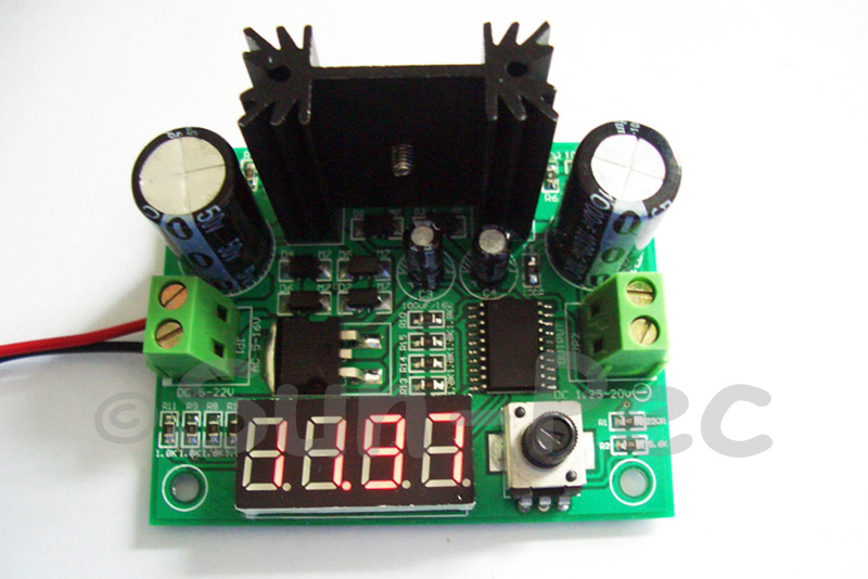 LM317VM Adjustable Power Supply Module & Voltage Meter 1A 1pcs - 10pcs