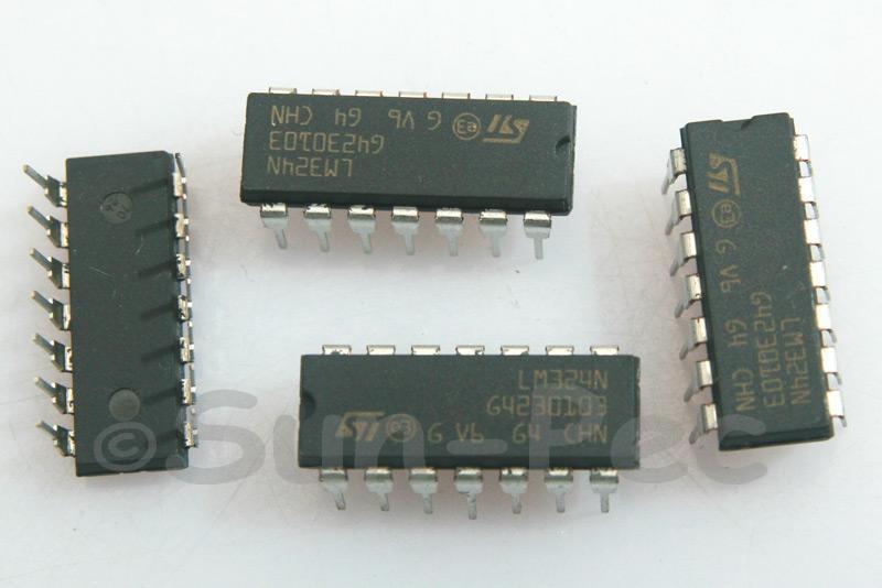 LM324 ST ±16V 50mA DIP-14 5pcs - 15pcs