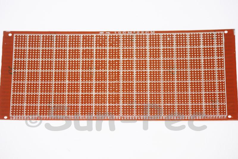 100220H Prototype PCB breadboard 94HB 100 x 220mm 1pcs