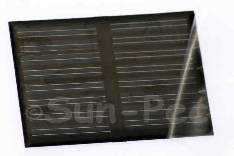 8060-8V50 Encapsulated Multi Crystal Mini Solar Cell Panel 8V 50mA 80 x 60 x 3mm 1pcs