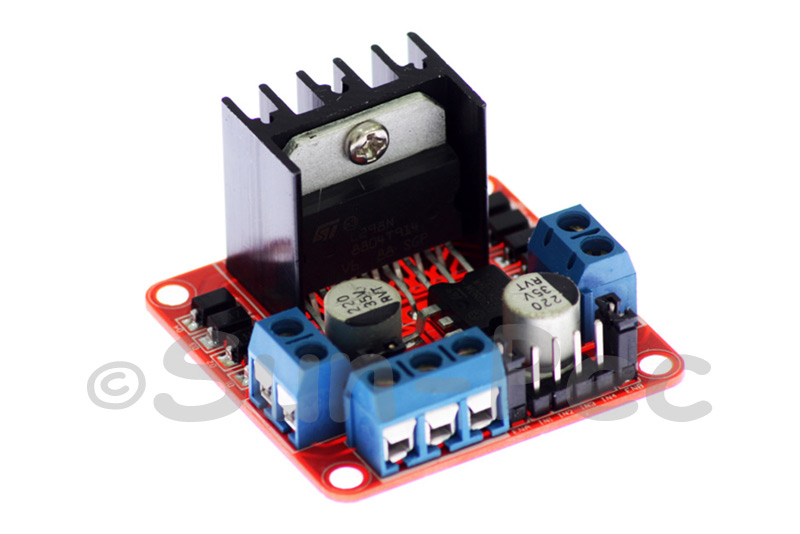 L298N Dual H Bridge DC Stepper Drive Controller for Arduino 5V 25W 0mA-36mA 1pcs - 2pcs