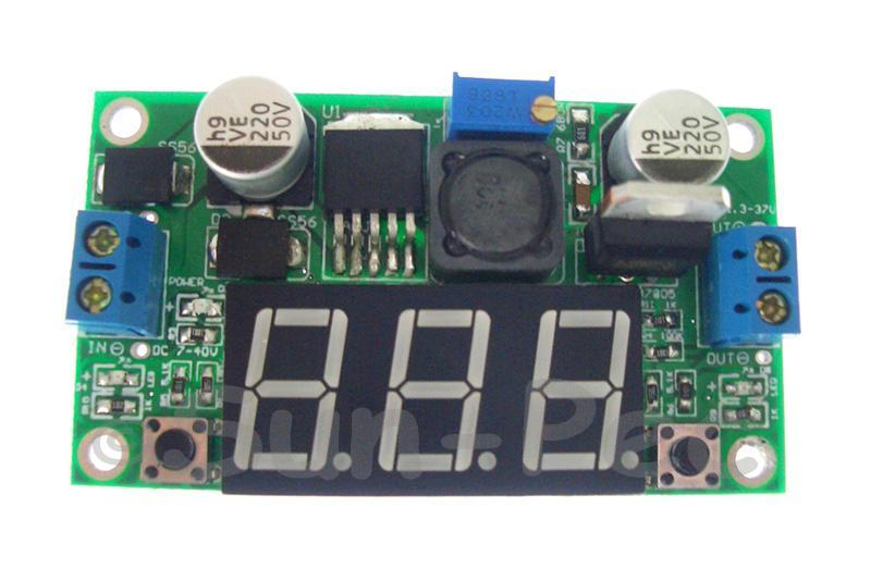 LM2596 Buck DC power Convertor Step Down Voltage Regulator 1.3V - 32V 15W 2A 7cm x 4cm 1pcs - 5pcs