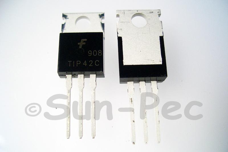 TIP42C Bipolar Transistor 100V 6A PNP TO220 1pcs - 10pcs