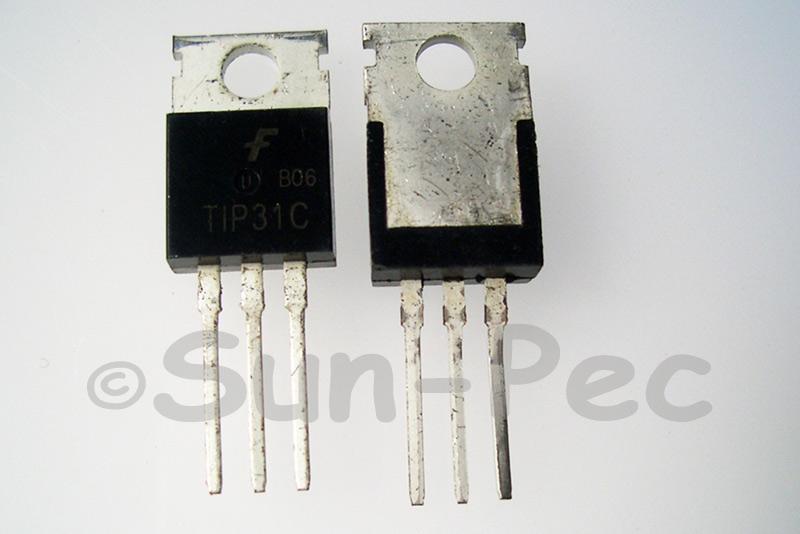 TIP31C Bipolar Transistor 100V 3A NPN TO220 1pcs - 10pcs