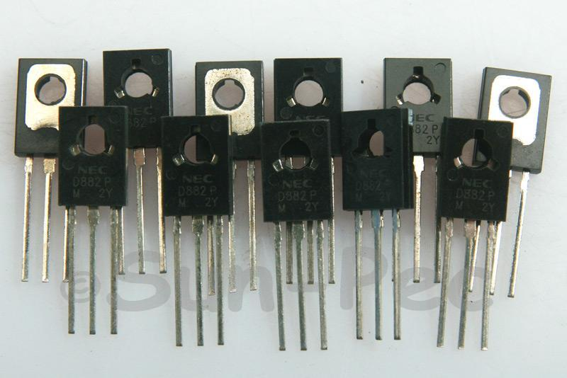2SD882 General Purpose Transistor 40V 3A NPN TO-126 10pcs - 30pcs