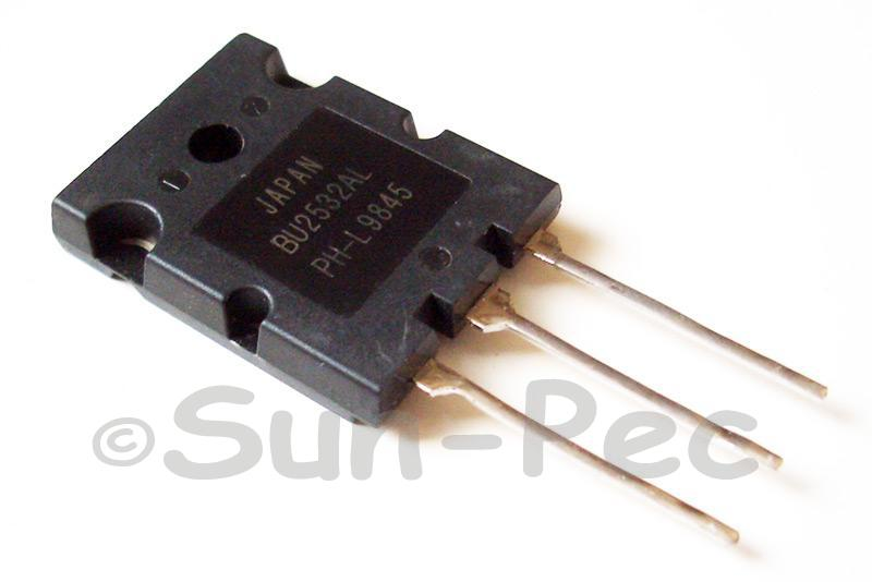 BU2532AL PHILIPS Silicon Diffused Power Transistor 800V 125W 16A TO-3PL 1pcs
