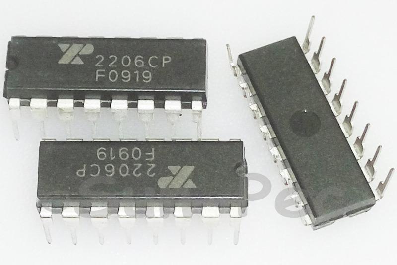 XR-2206CP EXAR Monolithic Function Generator 10V - 26V 14mA DIP-8 1pcs