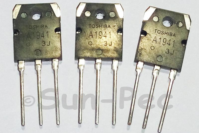 2SA1941 TOSHIBA High Power Audio transistor -140V 100W -1A TO-3P 2pcs