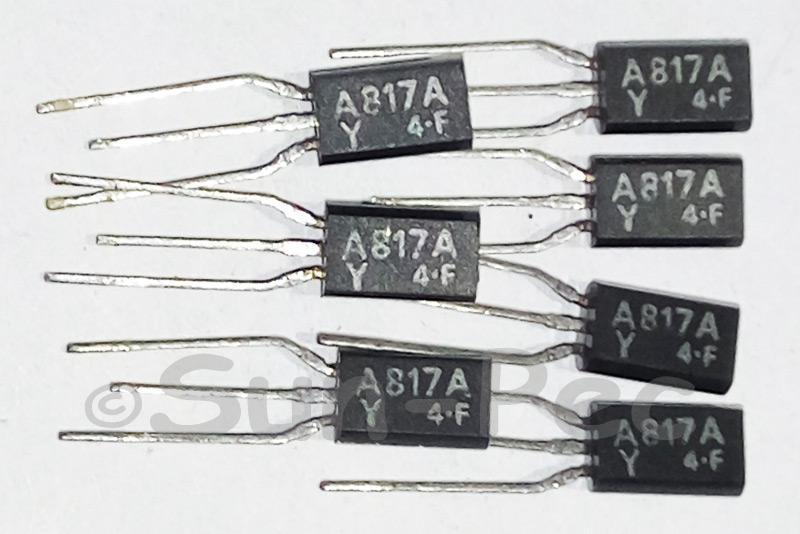 2SA817A TOSHIBA TRANSISTOR DRIVER STAGE VOLTAGE TO-92 2pcs - 6pcs