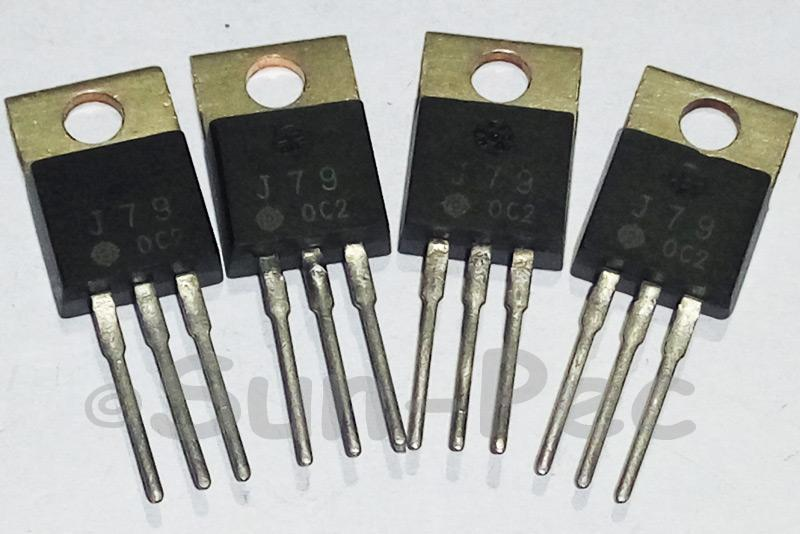 2SJ79 HITACHI Silicon P Channel MOSFET 200V 30W 0.5A P-Channel TO-220 1pcs