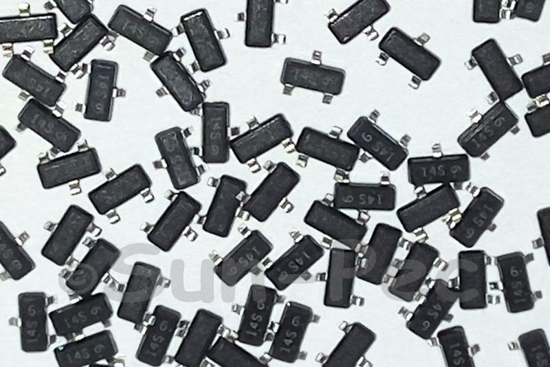 L9015SLT1G LESHAN General Purpose Transistors PNP -50V 100mA PNP SOT-23 10pcs - 100pcs