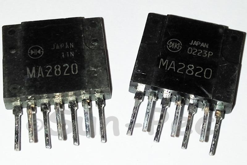 MA2820 SANKEN Power Switching Regulators ZIP-7 1pcs