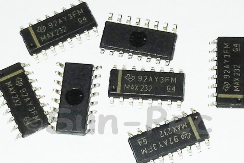 MAX232 MAXIM 350MHz/250MHz 2-Channel Video SOP-16 5pcs