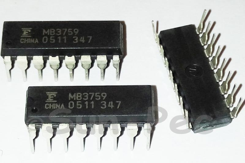 MB3759P FUJI Switching Regulator Controller DIP-16 1pcs