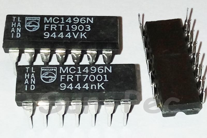 MC1496N PHILIPS Balanced modulator/demodulator 30V 10A DIP14 1pcs