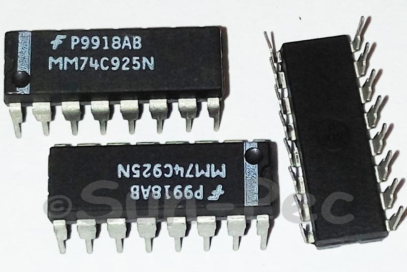 MM74C925 NS IGBT MODULE DIP-16 1pcs
