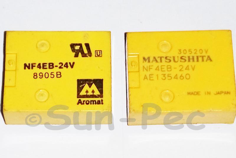 NF4EB-24V Aromat / Nais ARM DIP FLATPACK RELAY 24VDC 2A 1pcs