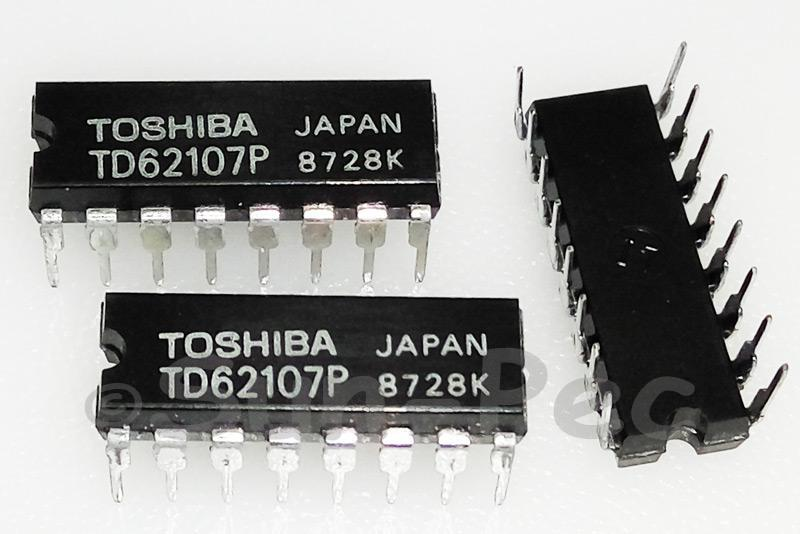 TD62107P TOSHIBA 4CH HIGH-CURRENT DARILGTON SINK DIP-16 1pcs