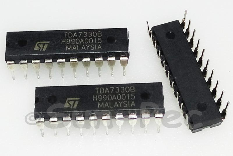 TDA7330B ST SINGLE CHIP RDS DEMODULATOR + FILTER DIP-20 1pcs